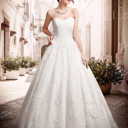 Длинное свадебное платье, арт. А1096
