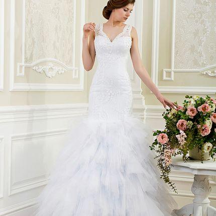 Свадебное платье силуэта рыбка, арт. А1130