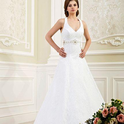 Аренда свадебного платья А-силуэта, арт. А1146
