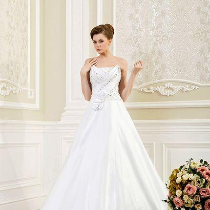Аренда свадебного платья А-силуэта, арт.А1147