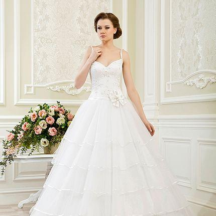 Пышное свадебное платье  А1153