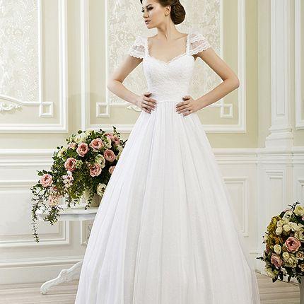 Пышное свадебное платье А1173 в аренду