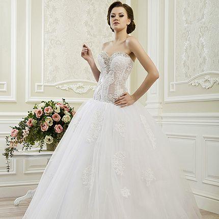 Пышное свадебное платье А1188