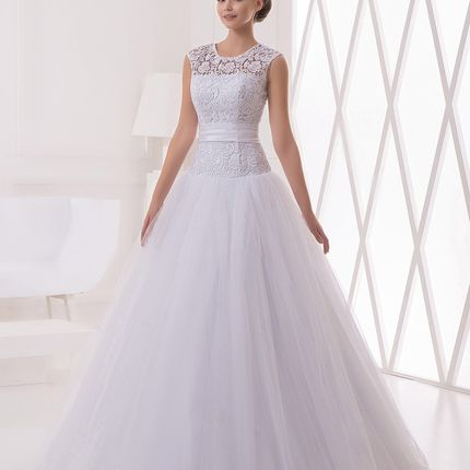 Свадебное платье А-силуэта А1211