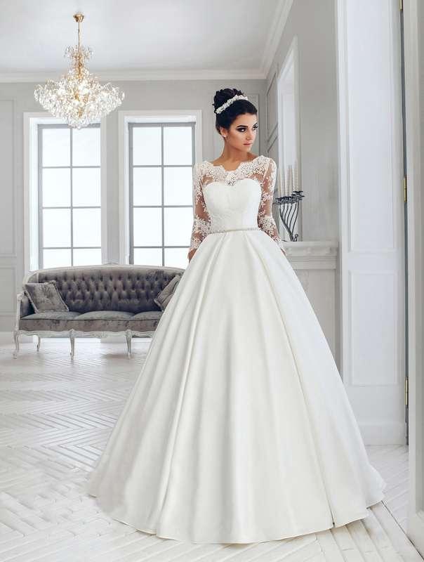 Свадебное платье А1231. Покупка НОВОГО 22.500р. Прокат свадебных платьев от 1.900 р до 14.500р на три дня. Есть отдельно ряд платьев для проката! - фото 17144292 Свадебный салон InLove