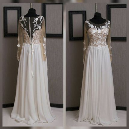 Свадебное платье в пол А1246