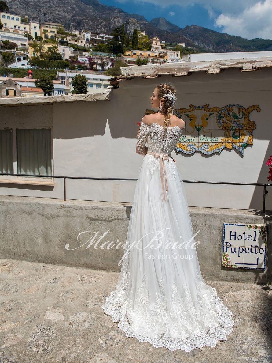 """Свадебное платье А1271. Покупка НОВОГО 22.500р. Прокат свадебных платьев от 1.900 р до 14.500р на три дня. Есть отдельно ряд платьев для проката! - фото 17331880 Свадебный салон """"Лучшая"""""""