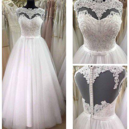 Свадебное платье пышное А1316