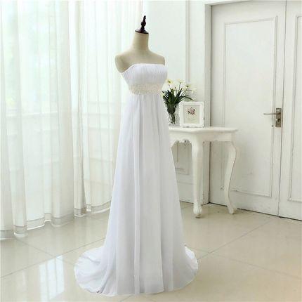 Свадебное платье для беременной А1320