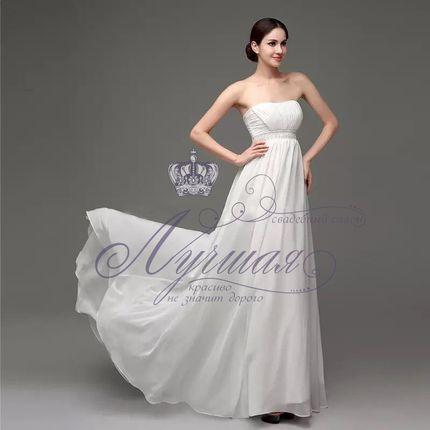 Свадебное платье для беременной А1331