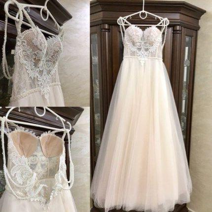 Свадебное платье пышное А1352