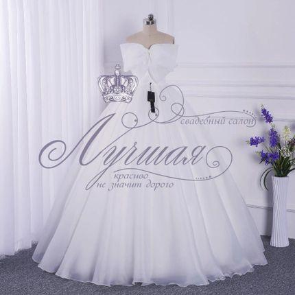 Свадебное платье для беременной А1358