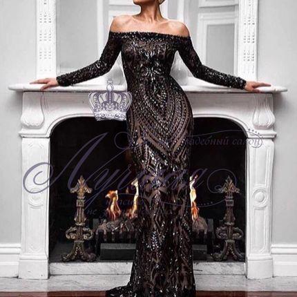 Вечернее платье прокат А1367