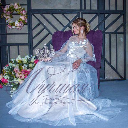 Свадебное платье пышное А1380