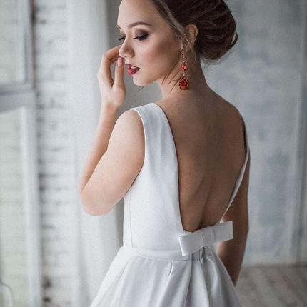 Свадебное платье со шлейфом А1414