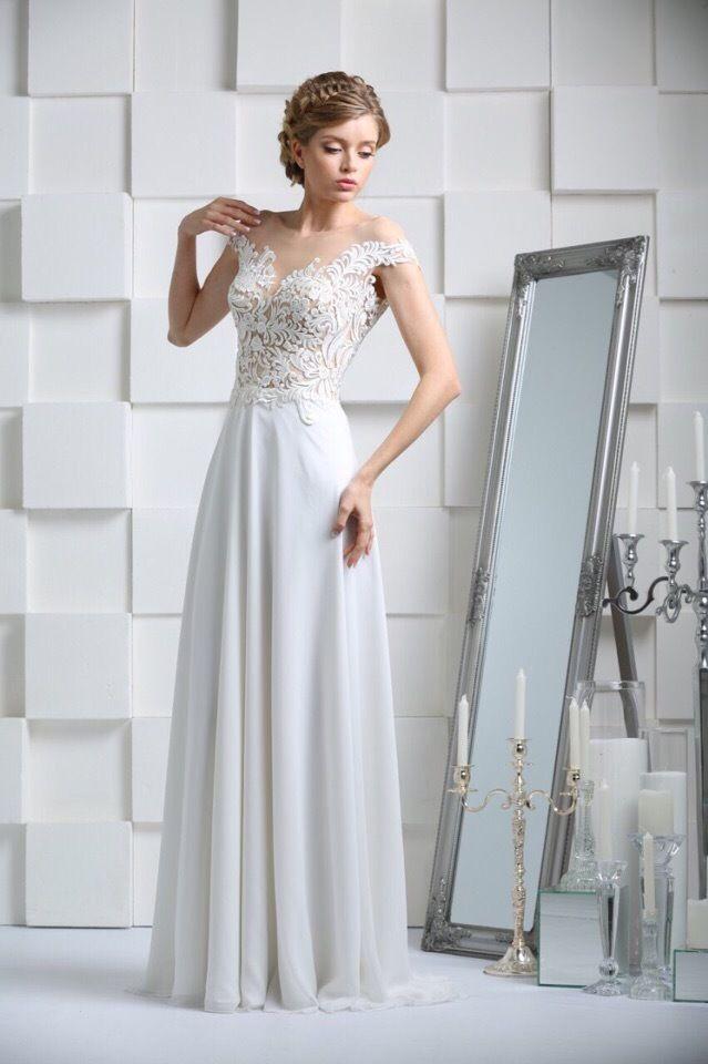 Свадебное платье в стиле ампир А1422