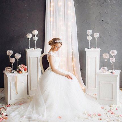 Свадебное платье со шлейфом А1428