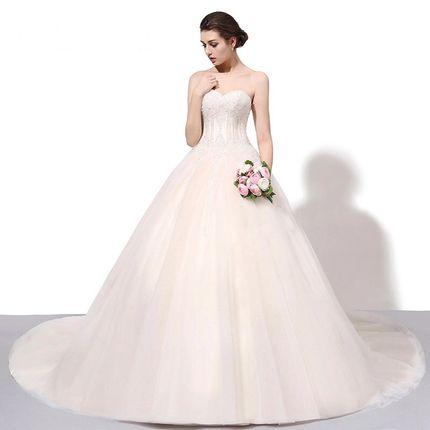 Свадебное платье пышное  А1436