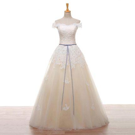 Свадебное платье пышное  А1438