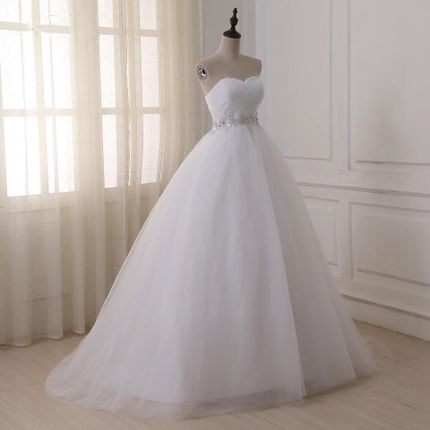 Платье со шлейфом А1457
