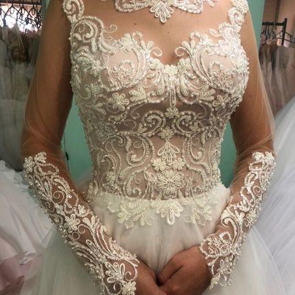 Платье пышное А1484
