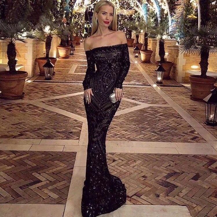 Вечернее платье со шлейфом А1523