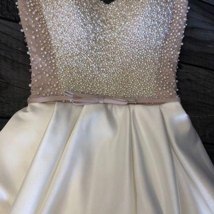 Платье со шлейфом прокат А1531
