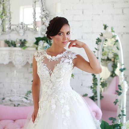 Платье пышное А1570