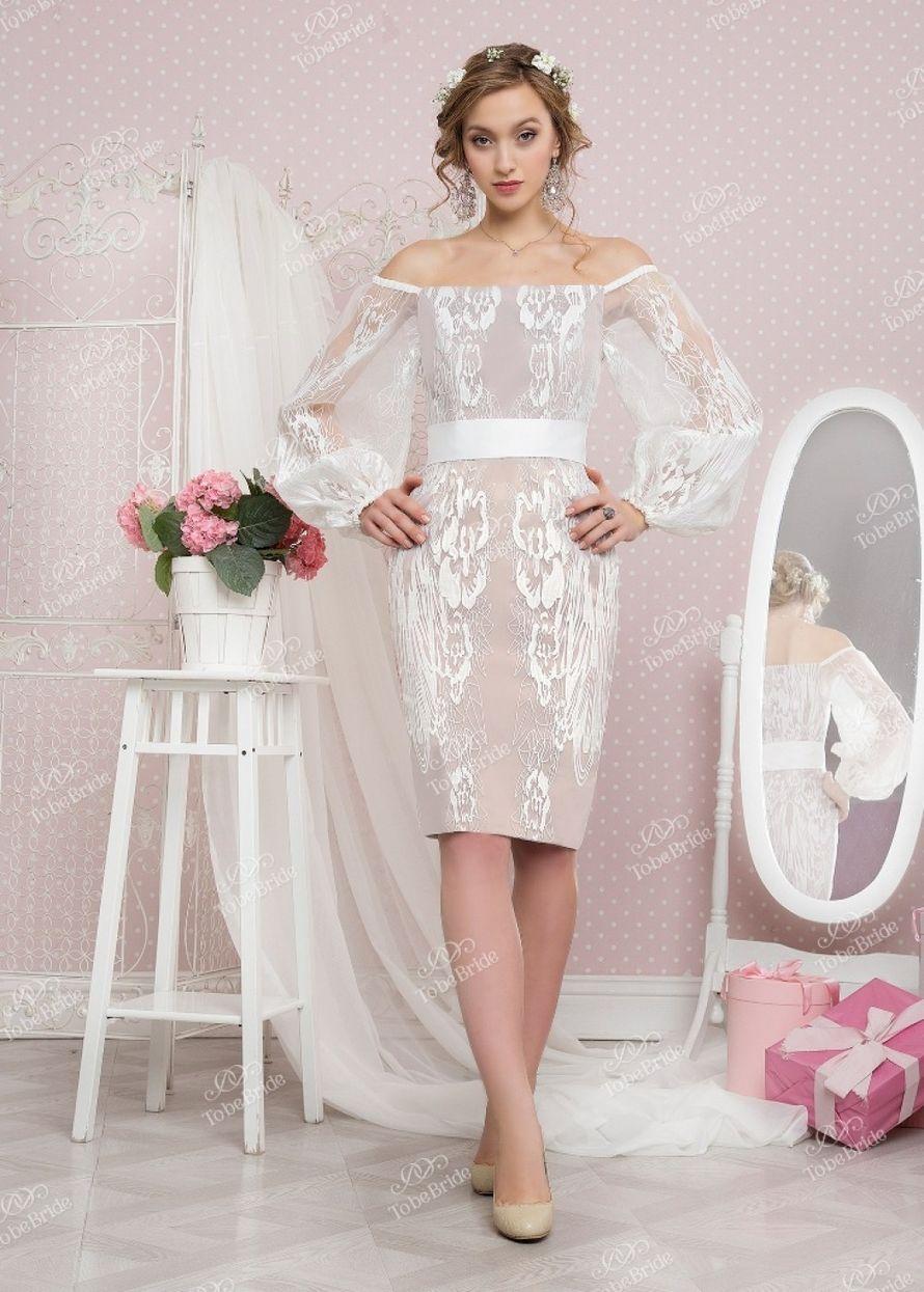 Стильное платье А1622 прокат