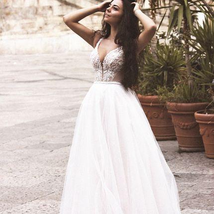 Свадебное платье пышное А1718 прокат