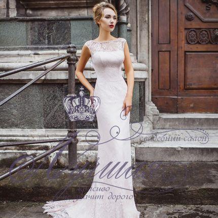 Платье силуэта рыбка А1639