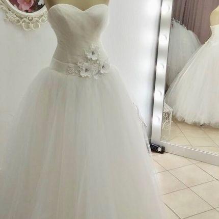 Пышное свадебное платье А1638