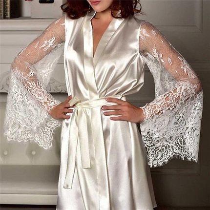 Халатик для невесты А1970 прокат
