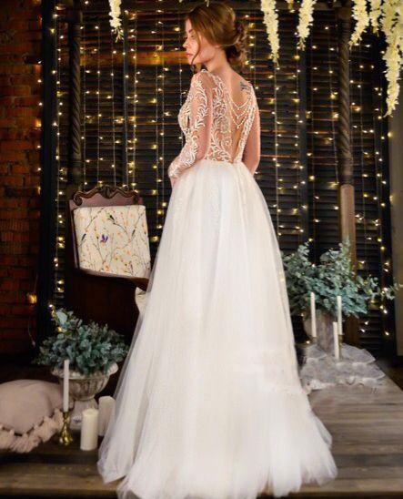 Платье пышное А1687