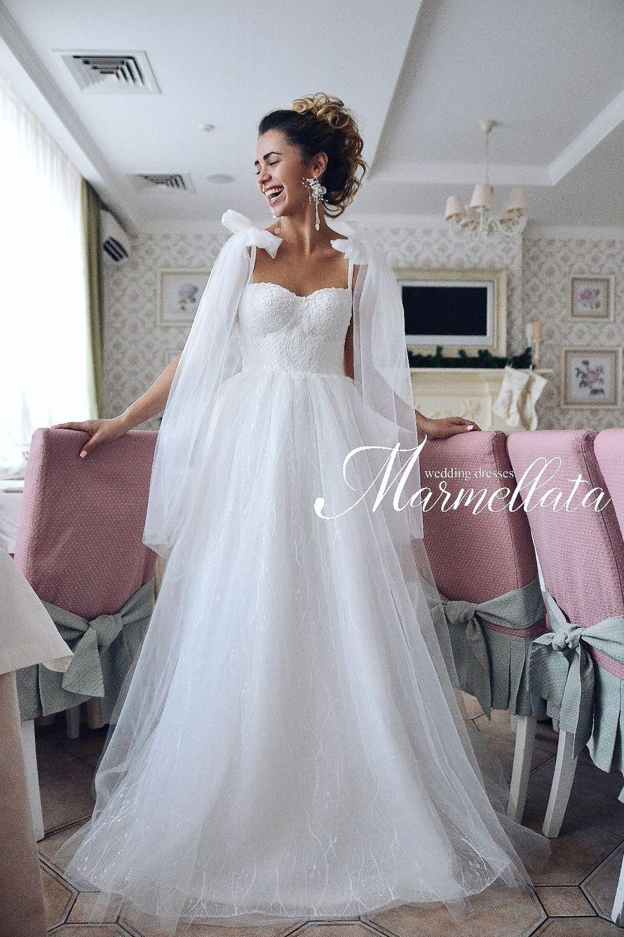 Платье пышное А1726