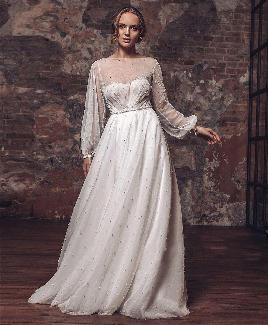 Платье в пол А1742