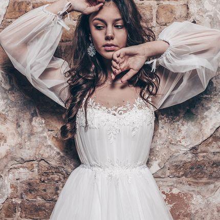 Свадебное платье в пол А1744