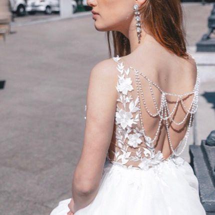 Платье с открытой спинкой А1777