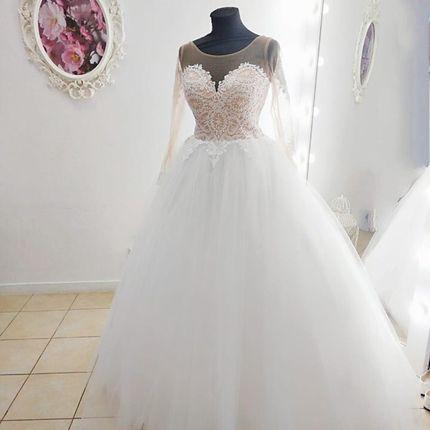 Платье с рукавами А1838