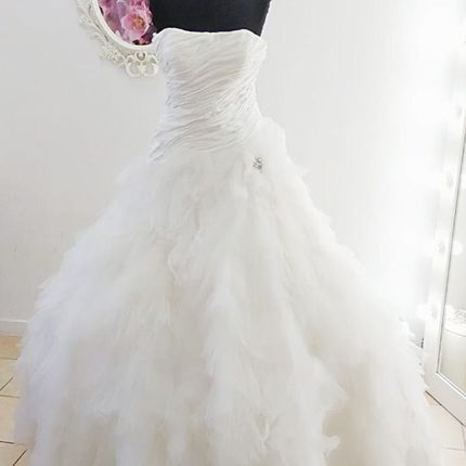 Платье лебедь А1846