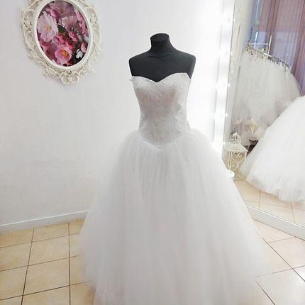 Платье пышное А1876