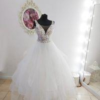 Свадебное платье А1893. Продажа 15.500 руб. Прокат свадебных и вечерних платьев от 1.900 руб. до 14.500 руб. Есть отдельно ряд платьев для проката!