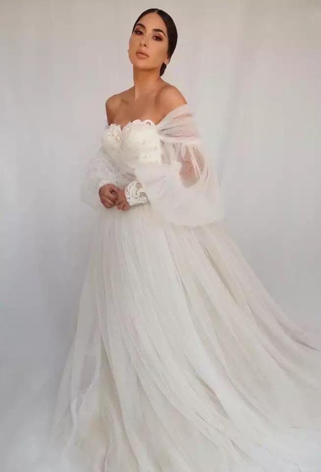 Свадебное платье А2186