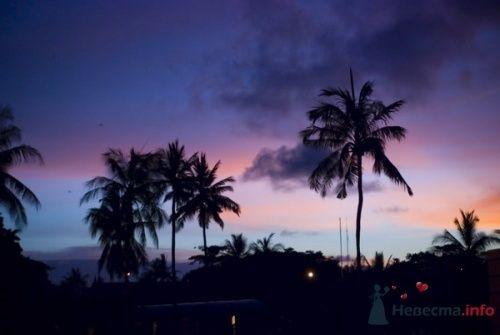Закат на о.Бали - фото 13248 Невеста01
