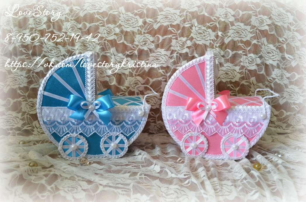 Комплект колясочек для свадебного конкурса - фото 4425537 Студия аксессуаров Кристины Тишковой