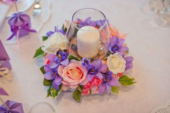 Украшения на стол свадьбы своими руками
