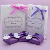 Ламинированные подарочные пакеты с именным логотипом - отличное решение для свадьбы. В пакет можно положить свадебные бонбоньерки, конвертики со свадебными фотографиями, конкурсные призы. Минимальная партия от 100 штук.