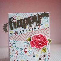 "открытка ""Happy everything"""