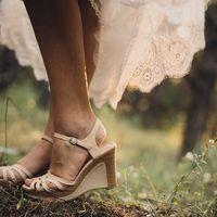 Летняя свадебная обувь для невесты