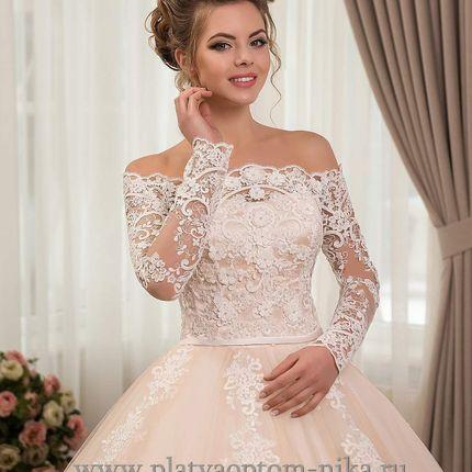 Свадебное пышное платье, арт. 119